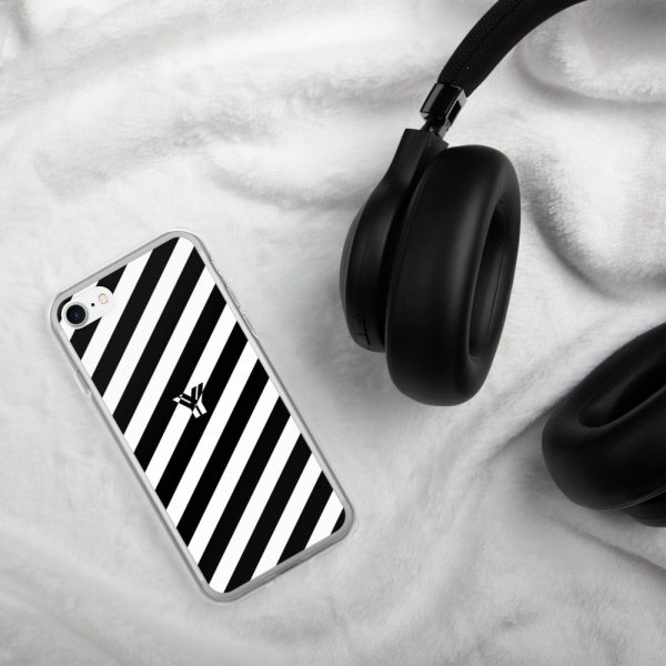 IPhone Hülle white and black collection OBVIOUS 22 mockup a58ca4b6