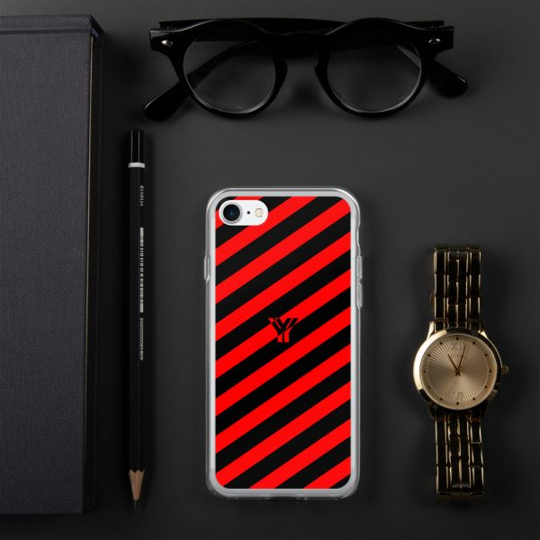 IPhone Hülle black and red collection OBVIOUS 18 mockup a7647504