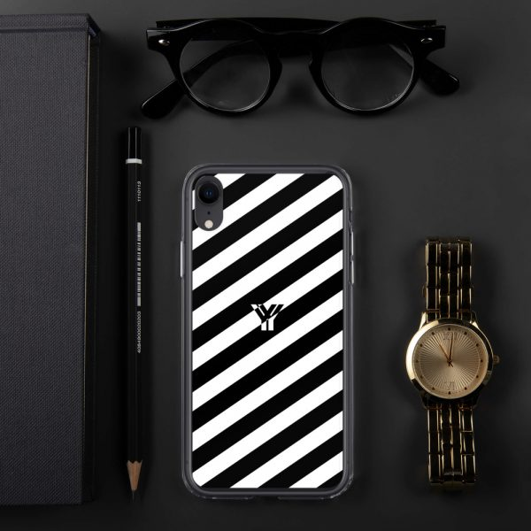 IPhone Hülle white and black collection OBVIOUS 27 mockup aabe6121