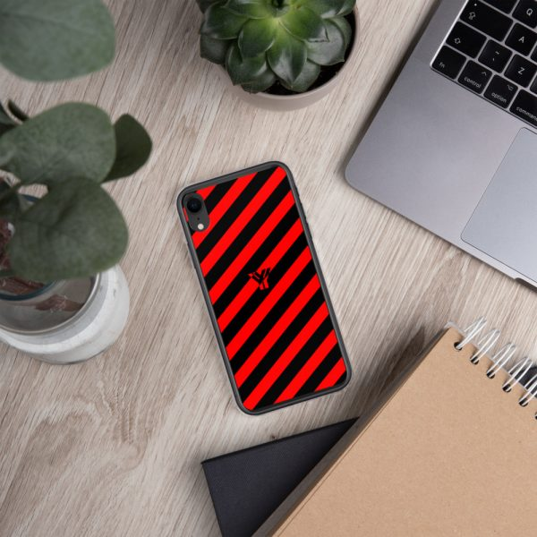 IPhone Hülle black and red collection OBVIOUS 29 mockup abe5b7d3