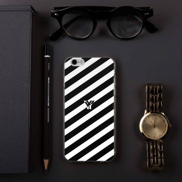 IPhone Hülle white and black collection OBVIOUS 12 mockup b229d2e2