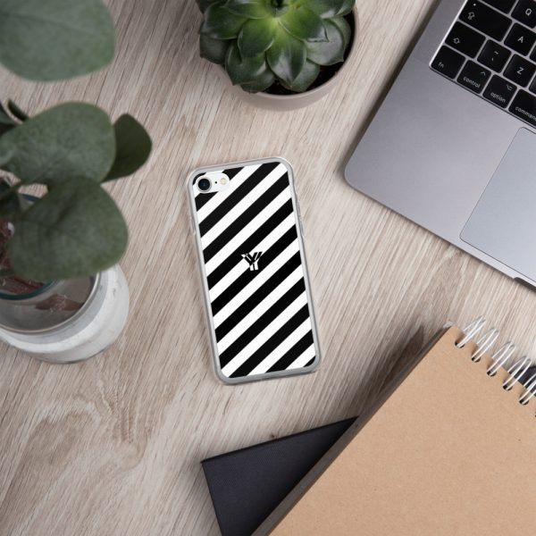 IPhone Hülle white and black collection OBVIOUS 20 mockup b2e2a3df
