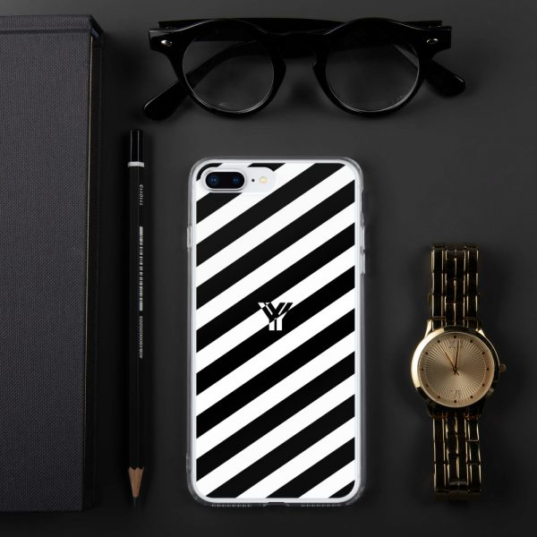 IPhone Hülle white and black collection OBVIOUS 15 mockup b86eeed7