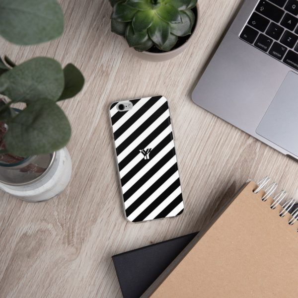IPhone Hülle white and black collection OBVIOUS 14 mockup b989ba6a