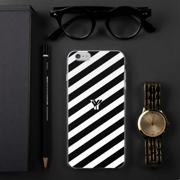 IPhone Hülle white and black collection OBVIOUS 9 mockup b9d58966