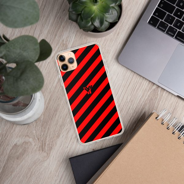 IPhone Hülle black and red collection OBVIOUS 8 mockup bfe434fa