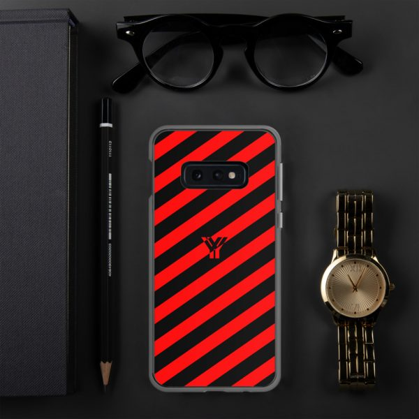 antony yorck accessoire samsung phone cases stripes black and red collection obvious 030