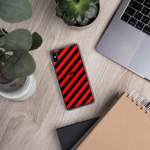 IPhone Hülle black and red collection OBVIOUS 26 mockup c18821e5