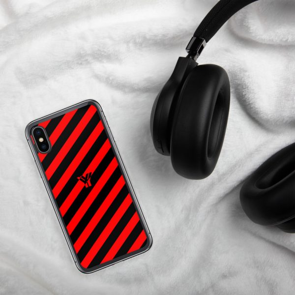 Antony Yorck • IPhone Hülle black and red • Collection OBVIOUS 25 mockup c1c9682b