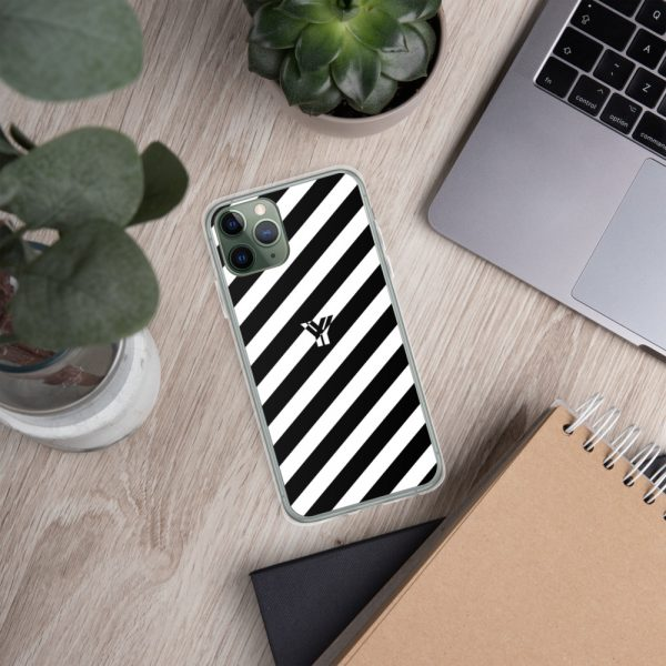 IPhone Hülle white and black collection OBVIOUS 5 mockup c4b84abe