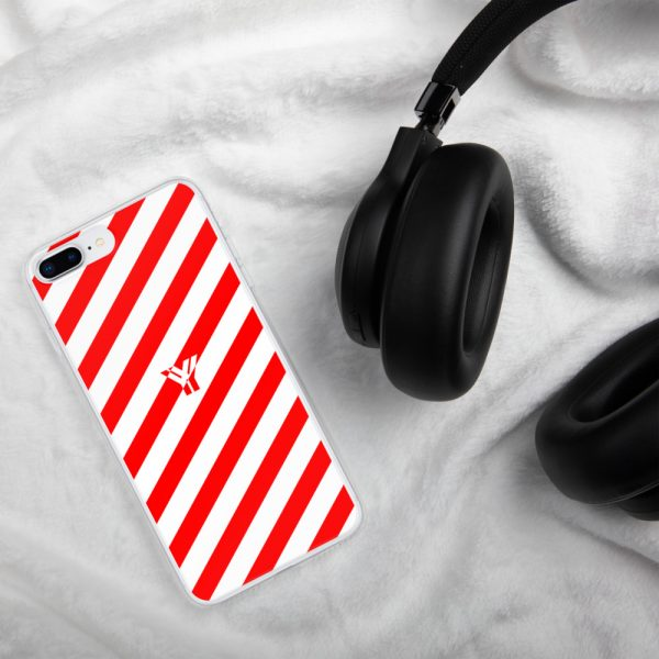 IPhone Hülle white and red collection OBVIOUS 16 mockup c890a9c4