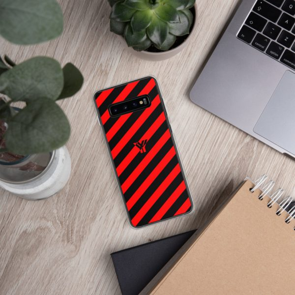 antony yorck accessoire samsung phone cases stripes black and red collection obvious 031