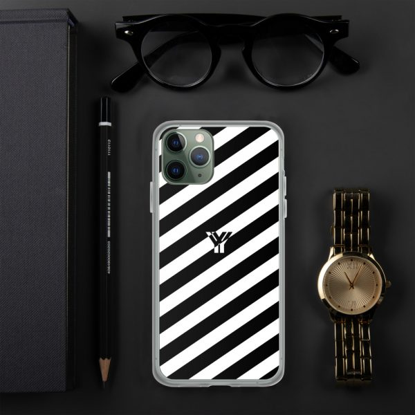 IPhone Hülle white and black collection OBVIOUS 3 mockup cecb2658