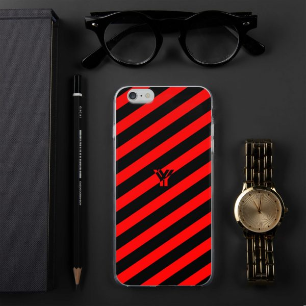 Antony Yorck • IPhone Hülle black and red • Collection OBVIOUS 9 mockup d077e90e