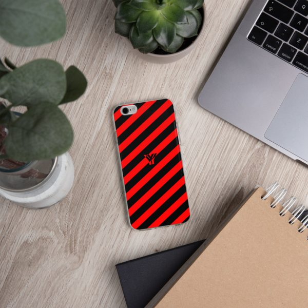 Antony Yorck • IPhone Hülle black and red • Collection OBVIOUS 14 mockup dc1f121e