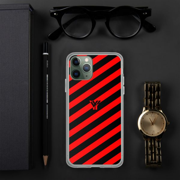 IPhone Hülle black and red collection OBVIOUS 3 mockup dc6beb2e