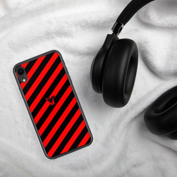 IPhone Hülle black and red collection OBVIOUS 28 mockup ec31d7de