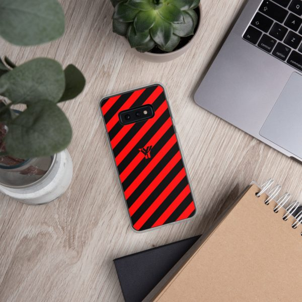 antony yorck accessoire samsung phone cases stripes black and red collection obvious 028
