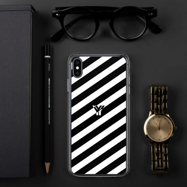 IPhone Hülle white and black collection OBVIOUS 30 mockup fa149777