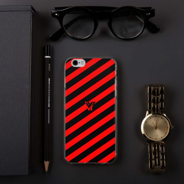 Antony Yorck • IPhone Hülle black and red • Collection OBVIOUS 12 mockup fc9c1f7d
