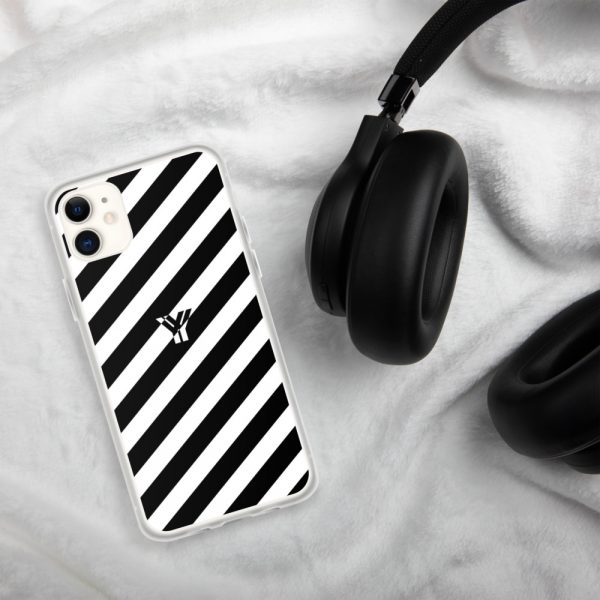 IPhone Hülle white and black collection OBVIOUS 1 mockup fca47203