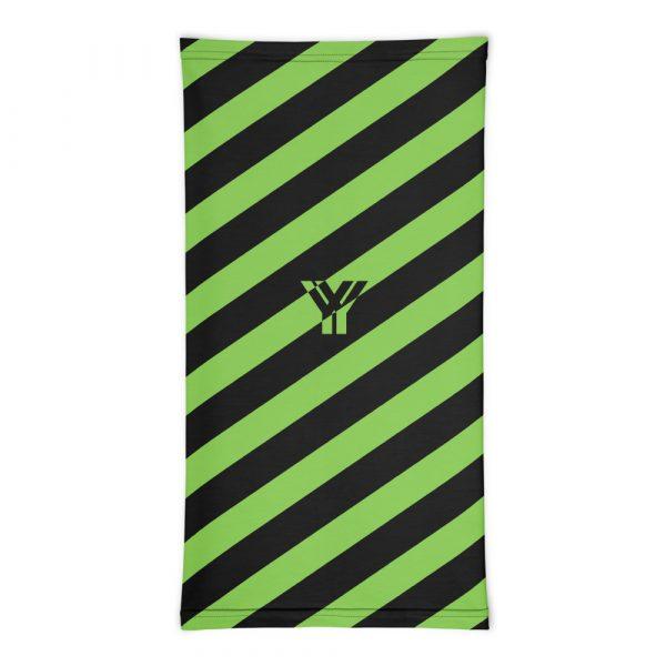 Multifunktionstuch grün schwarz schräg gestreift 3 antony yorck multifunktionstuch gruen schwarz gestreift schlauchtuch streetwear 0033