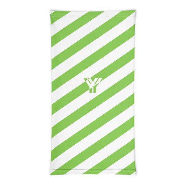 Multifunktionstuch grün weiß schräg gestreift 3 antony yorck multifunktionstuch gruen weiss gestreift schlauchschal streetwear 0033