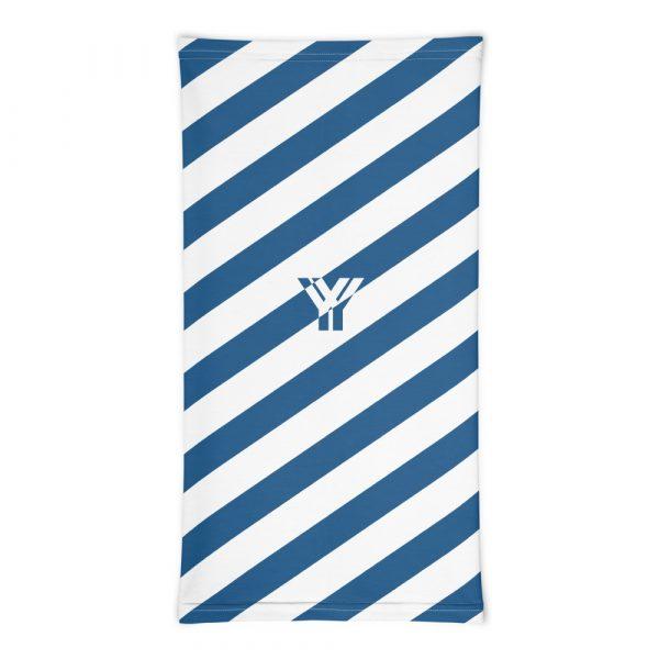 Multifunktionstuch blau weiß schräg gestreift 3 antony yorck multifunktionstuch blau weiss gestreift schlauchschal0033