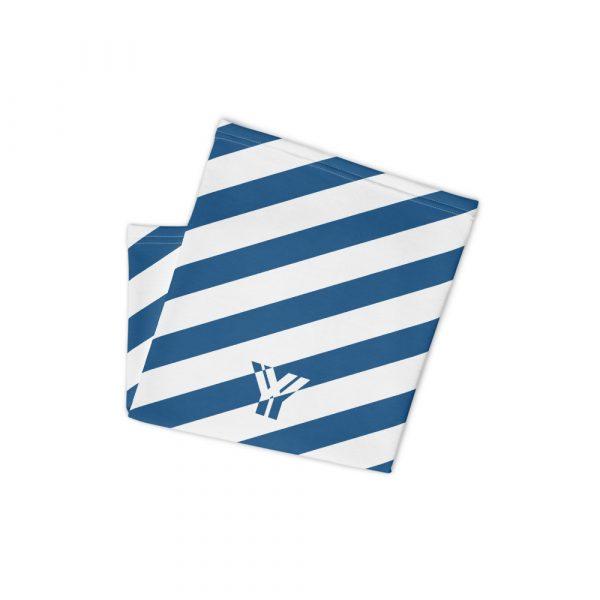 Multifunktionstuch blau weiß schräg gestreift 2 antony yorck multifunktionstuch blau weiss gestreift schlauchschal0034