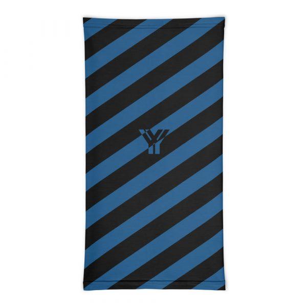 Multifunktionstuch navy blau schwarz schräg gestreift 3 antony yorck multifunktionstuch navy blau schwarz gestreift schlauchschal 0033