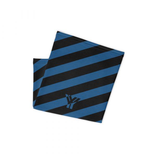 Multifunktionstuch navy blau schwarz schräg gestreift 2 antony yorck multifunktionstuch navy blau schwarz gestreift schlauchschal 0034