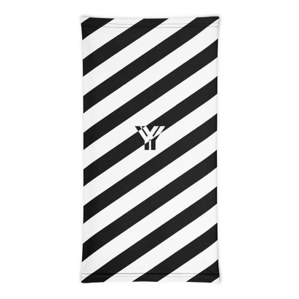 Multifunktionstuch schwarz weiß schräg gestreift 3 antony yorck multifunktionstuch schwarz weiss gestreift schlauchtuch 0033