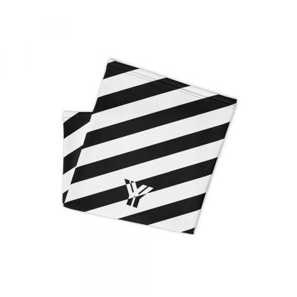 Multifunktionstuch schwarz weiß schräg gestreift 2 antony yorck multifunktionstuch schwarz weiss gestreift schlauchtuch 0034