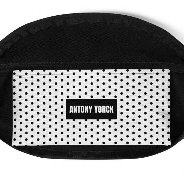 Bauchtasche-polka-dots-schwarz-antony-yorck-detail
