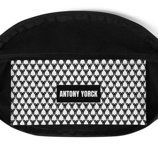 Bauchtasche-schwarz-weiß-logo-brand-antony-yorck-innen