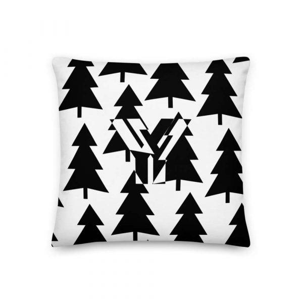 Sofakissen Tannenbaum schwarz auf weiß 1 mockup cd586e9d
