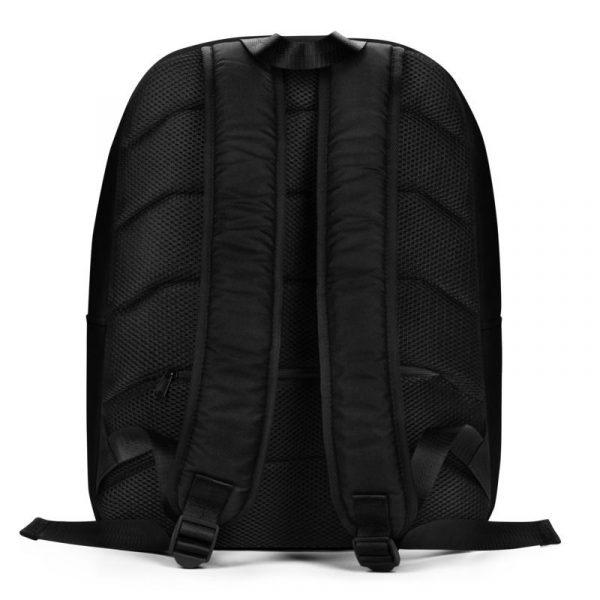 Rucksack Schrägstreifen schwarz rot mit Laptopfach 3 rucksack backpack laptopfach pocket for laptop stripes black red 07