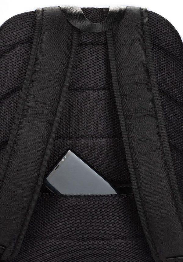 Rucksack Schrägstreifen rot weiß mit Laptopfach 5 rucksack backpack laptopfach pocket for laptop stripes white red 01