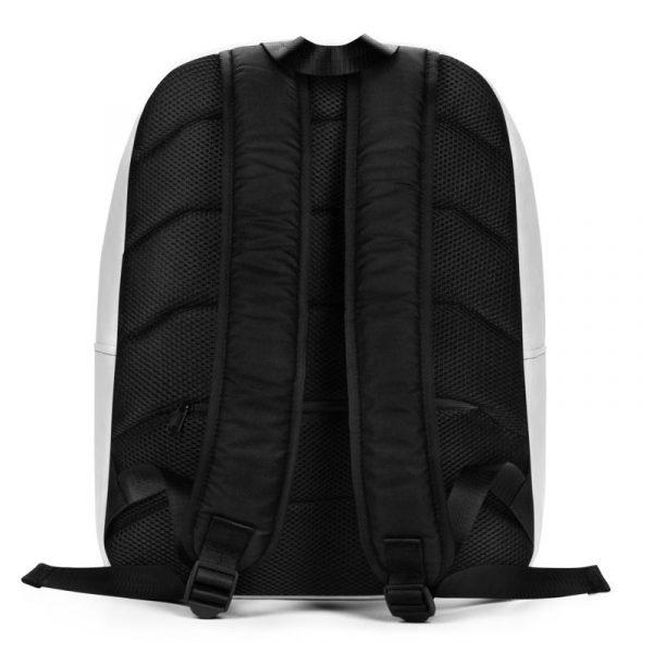 Rucksack Schrägstreifen rot weiß mit Laptopfach 3 rucksack backpack laptopfach pocket for laptop stripes white red 03