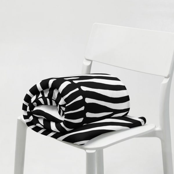 Animal Print Designer Sofadecke Zebra 8 sofa decke kuscheldecke zebra 01