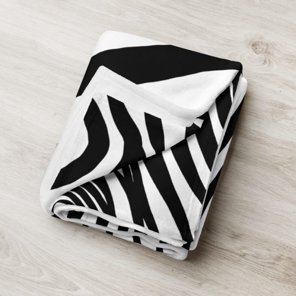 Animal Print Designer Sofadecke Zebra 7 sofa decke kuscheldecke zebra 03