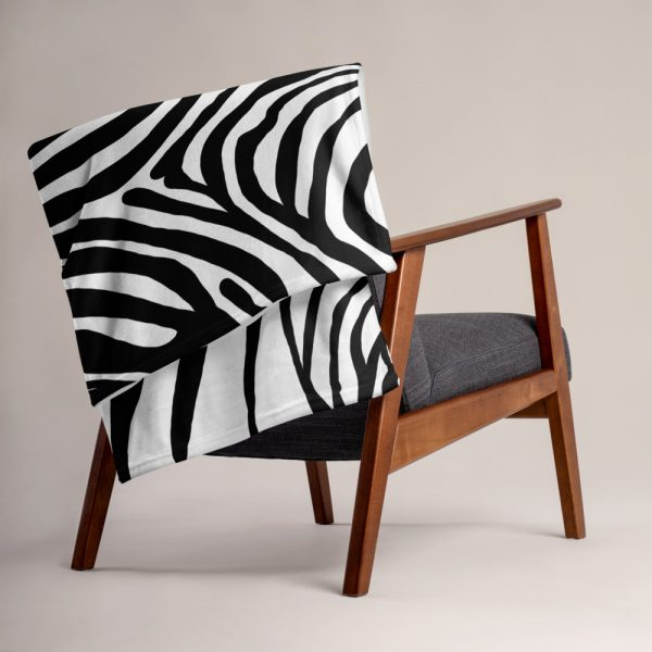 Animal Print Designer Sofadecke Zebra 6 sofa decke kuscheldecke zebra 05