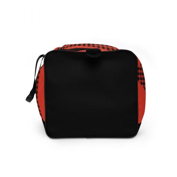 sporttasche trainingstasche houndstooth logo red left
