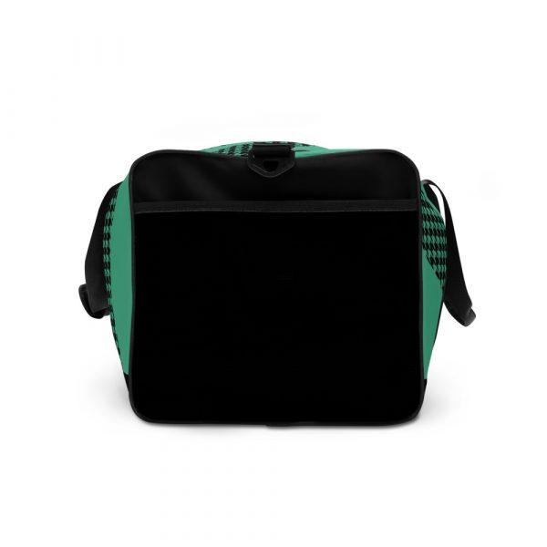 sporttasche trainingstasche houndstooth logo green left view