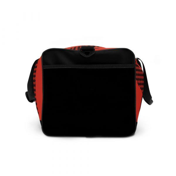 sporttasche trainingstasche houndstooth logo red right
