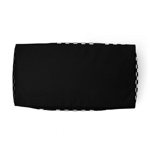 sporttasche trainingstasche karo checkers black bottom