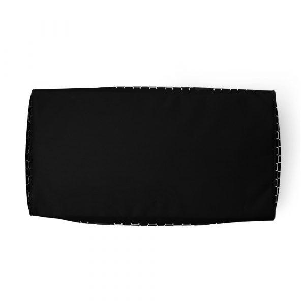 sporttasche trainingstasche karo checkers stepside black white bottom