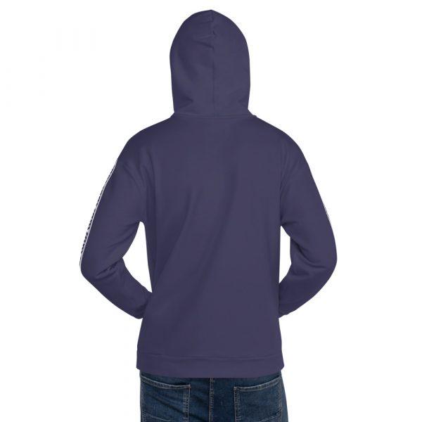 Herren Hoodie rhodonit mit Galonstreifen in weiß 2 all over print unisex hoodie white back 611295308e1c4
