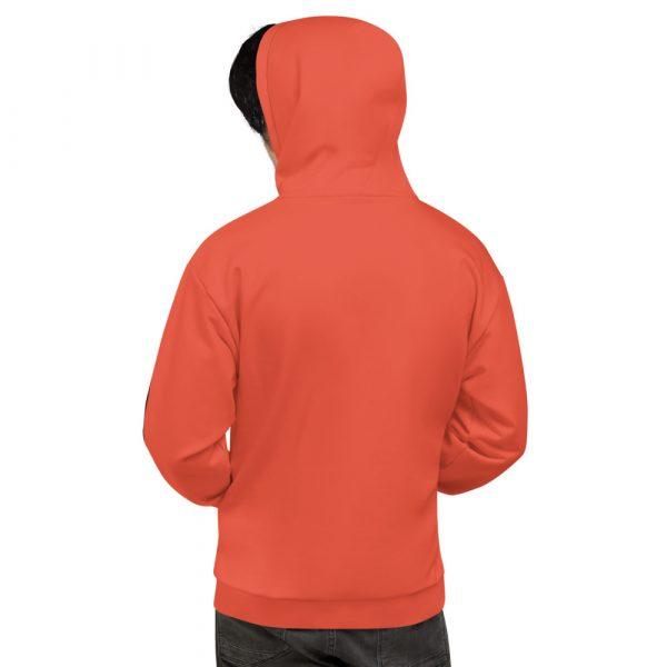 Herren Hoodie mandarin mit Galonstreifen in schwarz 2 all over print unisex hoodie white back 611297a77b075