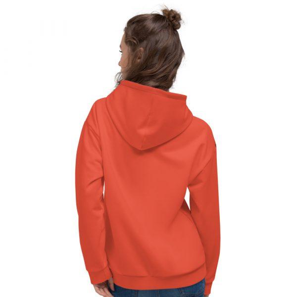 Damen Hoodie mandarin mit Galonstreifen in schwarz 3 all over print unisex hoodie white back 6112980e2ce1e